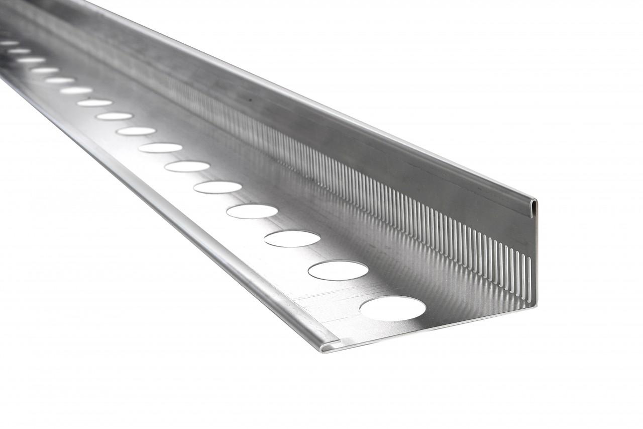 Kiesfangleisten aus Aluminium - Kiesfangleiste