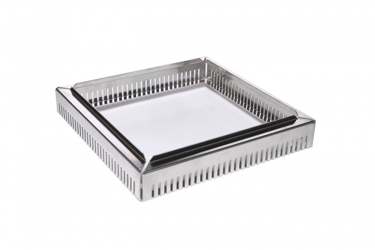 Aufstockelemente für Einlaufschächte (Unterteil aus Aluminium)