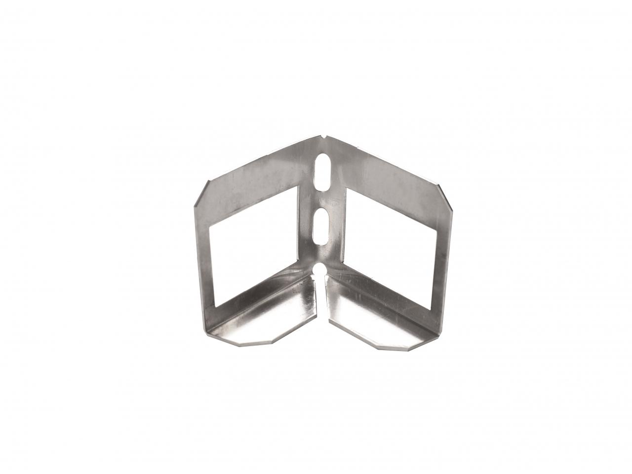 Eck-Verbinder in Aluminium für Kiesfangleisten